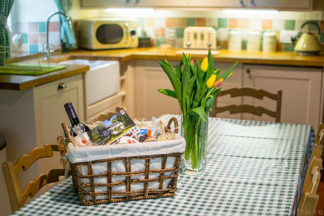 Welcome hamper from Tyn y Coed Cottage Holiday Home