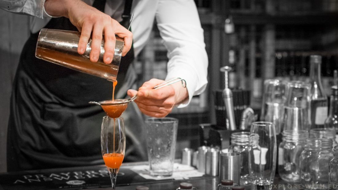 Strawberry, cocktail making, masterclass, The Celtic Manor