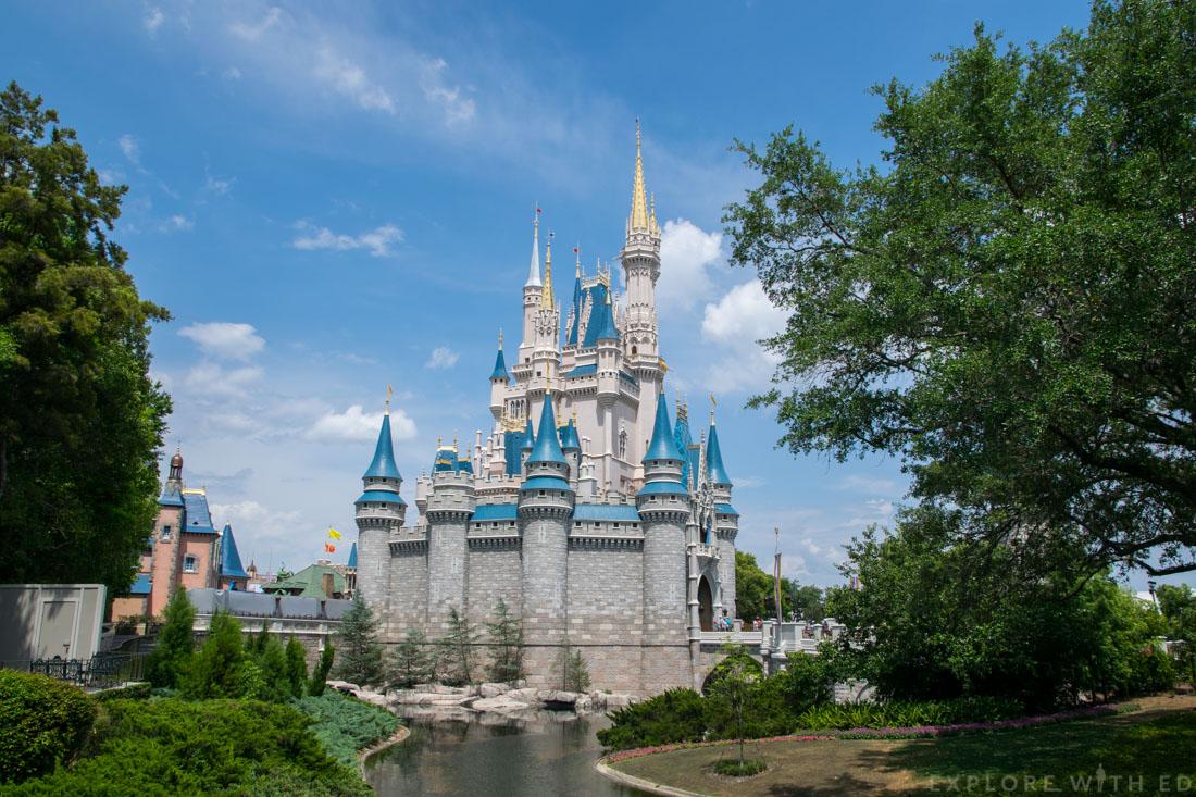 Cinderella's Castle in Magic Kingdom, Orlando Florida