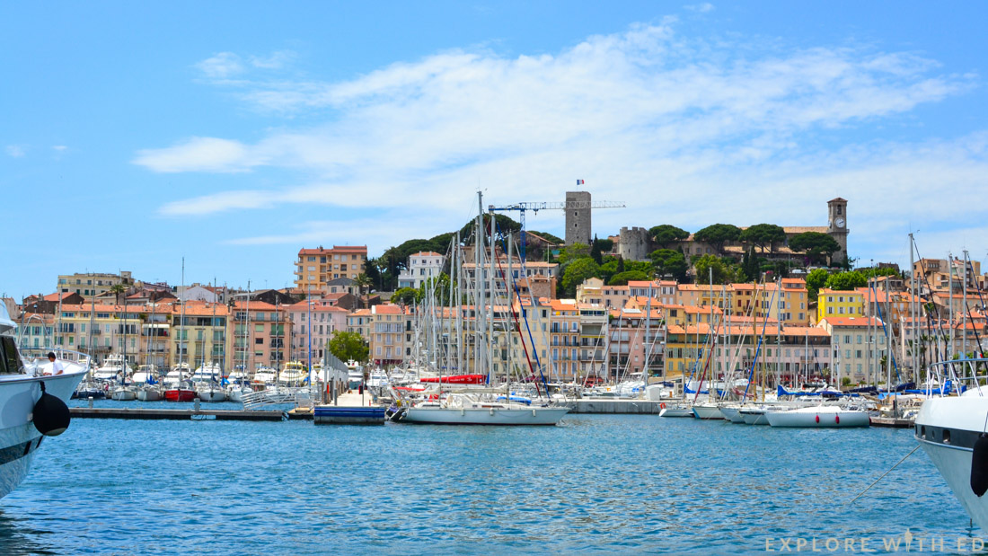 Marina in Cannes, Super Yachts, France