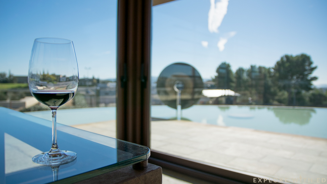Glass of wine, Catalonia, Torres Winery