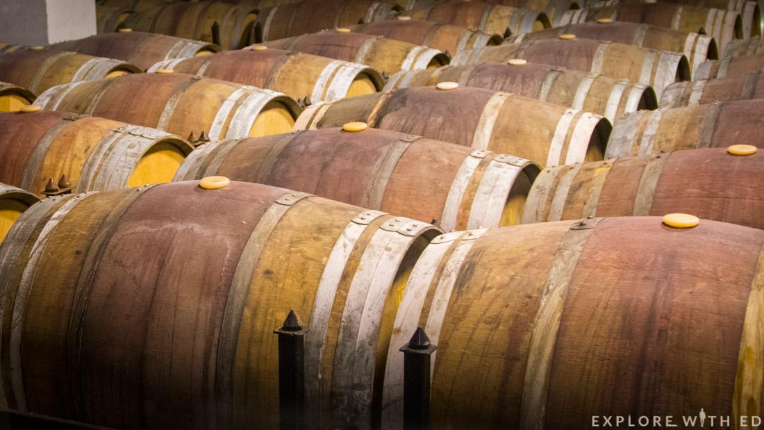 Wine cellar, Torres Winery, Pacs del Penedès