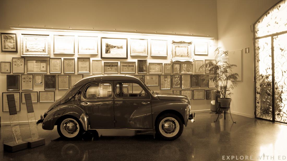 Vintage car, Wine museum, Pacs del Penedès