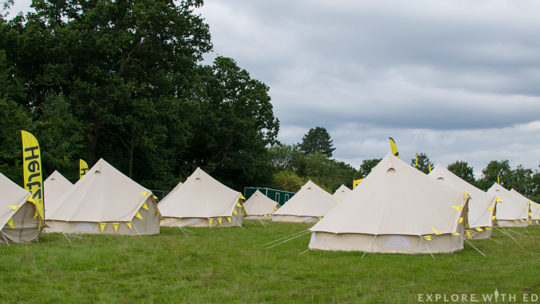 Hertz UK, glamping, Blogstock