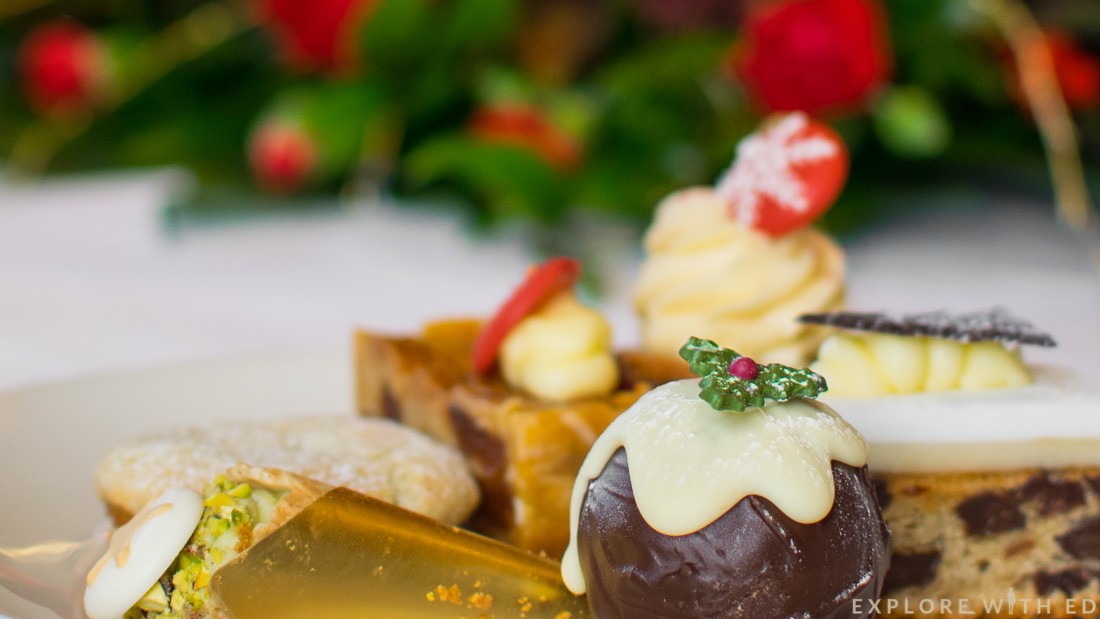 Christmas cakes, The Celtic Manor, Afternoon Tea