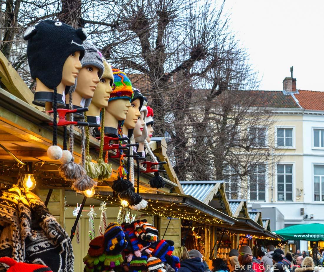Simon Stevinplein Christmas Market Stalls