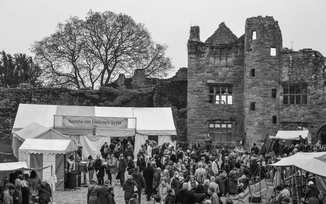 Ludlow Medieval Christmas Fayre Castle