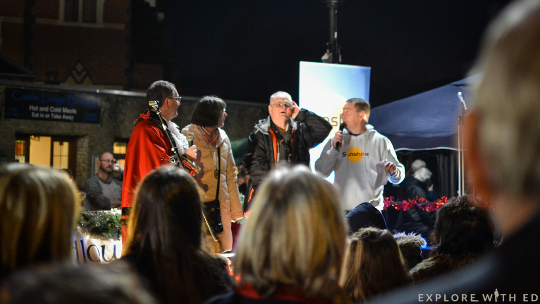 Ludlow christmas light switch on
