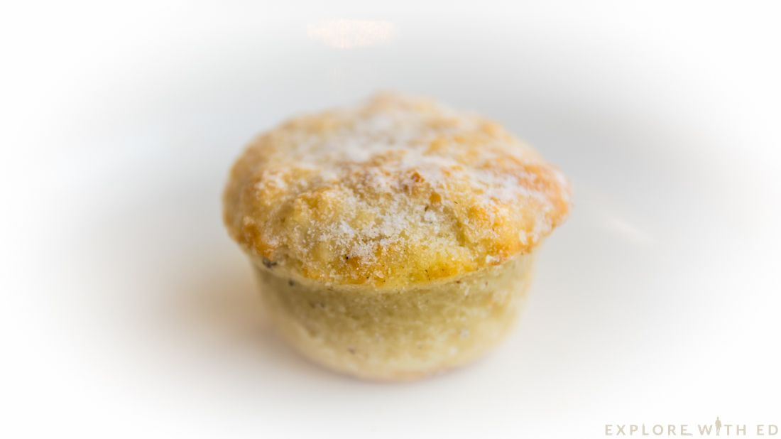 Mince pies, Afternoon Tea at Hilton Hotel