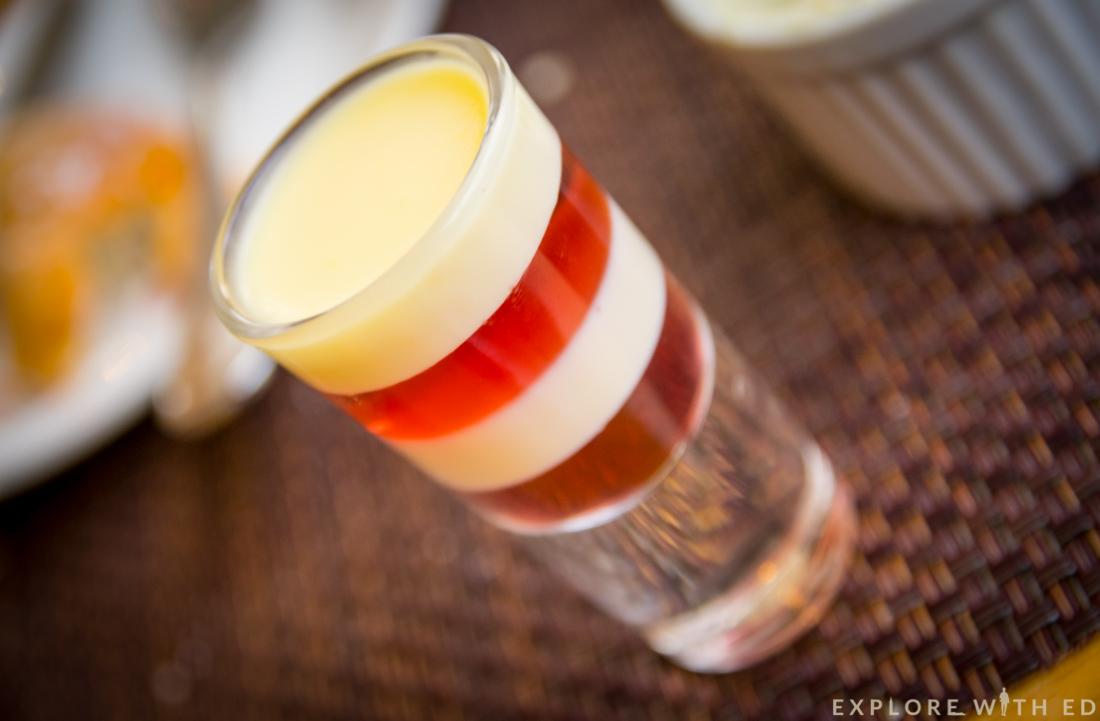 Jelly shotglass, Afternoon Tea