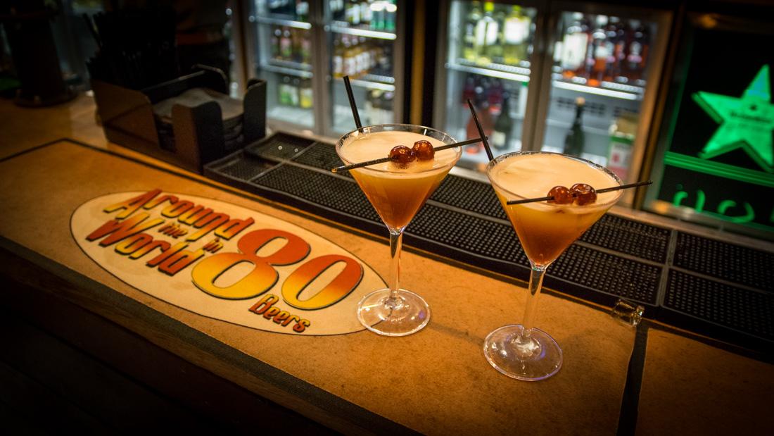 Guest blog, Around the World Bar, Cardiff Bierkeller, Visit Cardiff