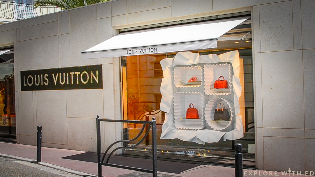 Louis Vuitton in Cannes, France