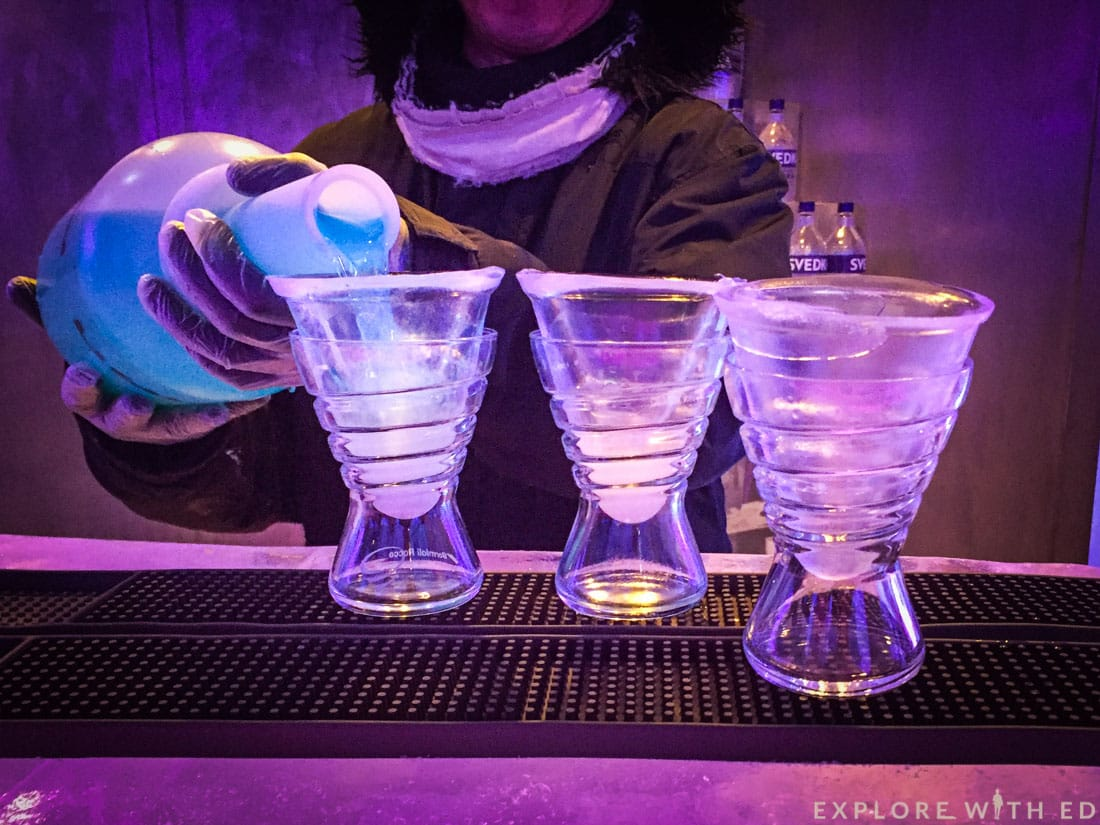 Svedka Ice Bar, Norwegian Epic