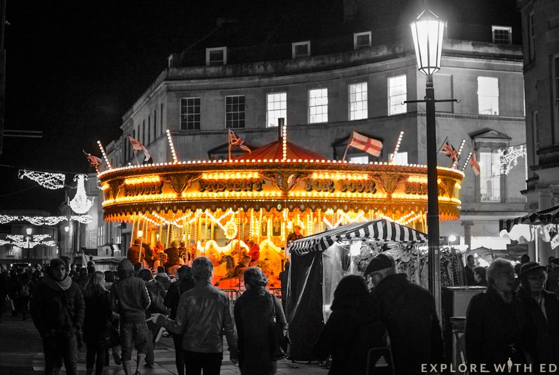 Bath Christmas Market, Carousel