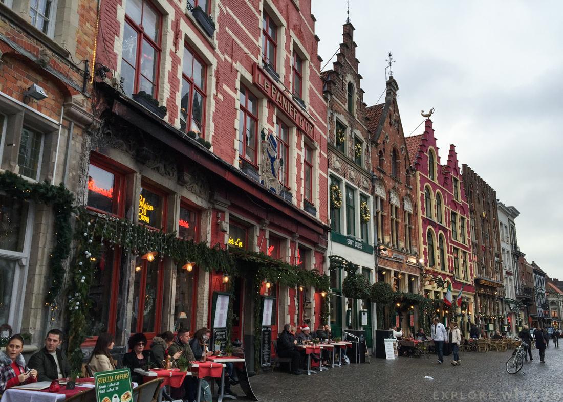 Bruges christmas markets, Grote Markt