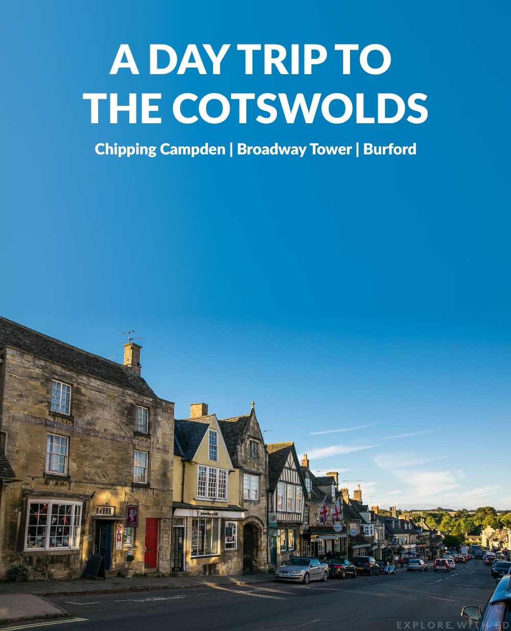 Title image featuring Burford High Street