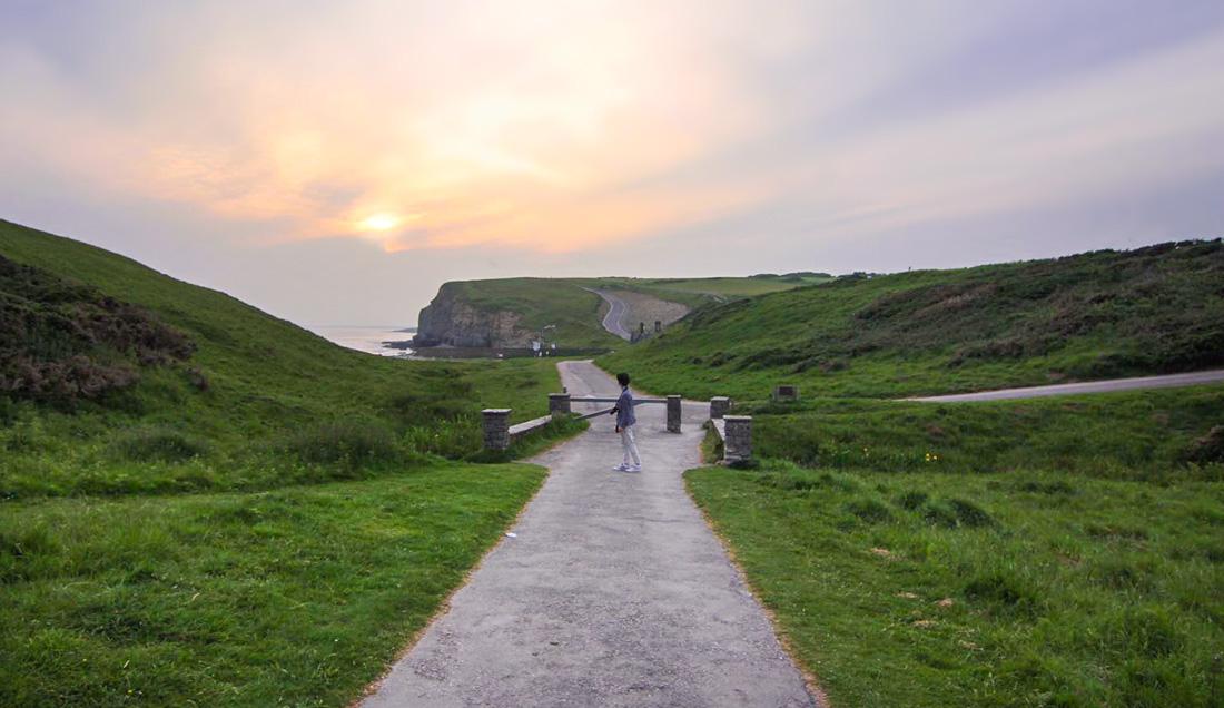 Dunraven Bay coastal walk