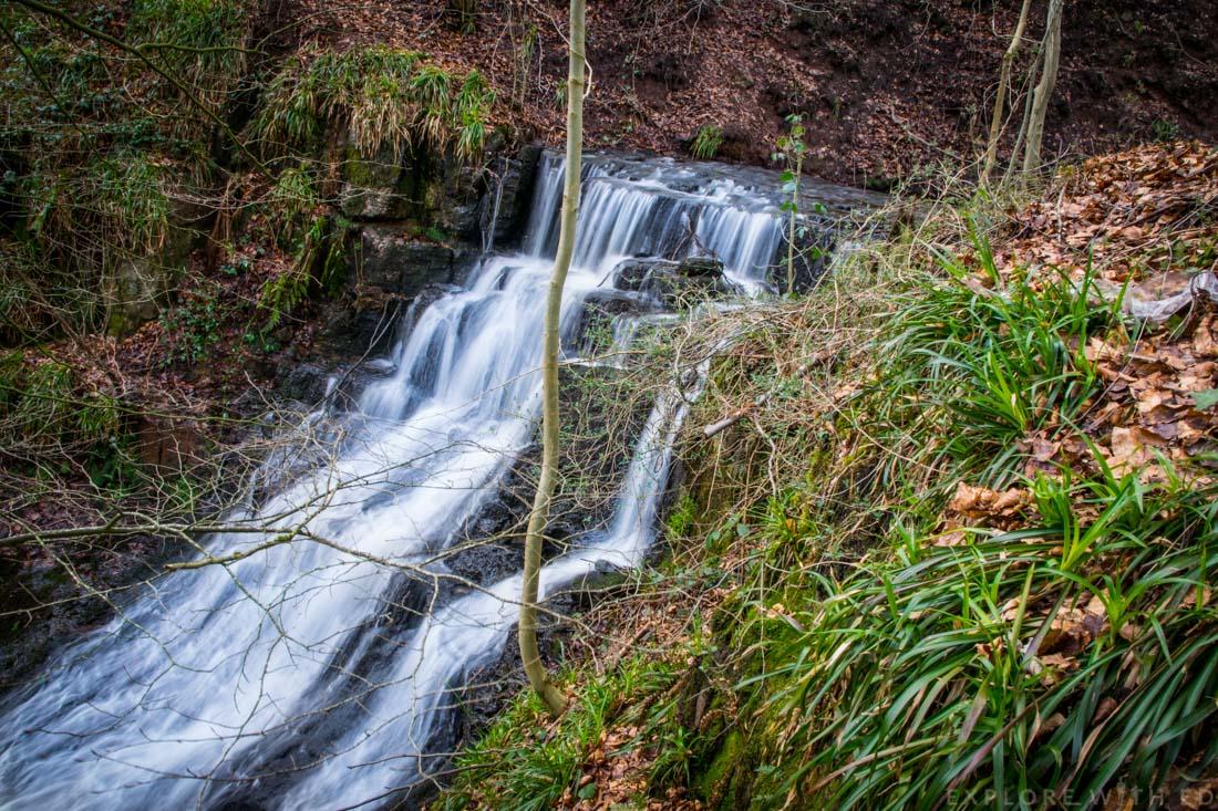 whitestone woodland park, wye valley waterfalls