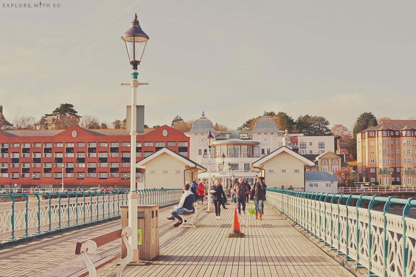 A bright and sunny day on Penarth Pier