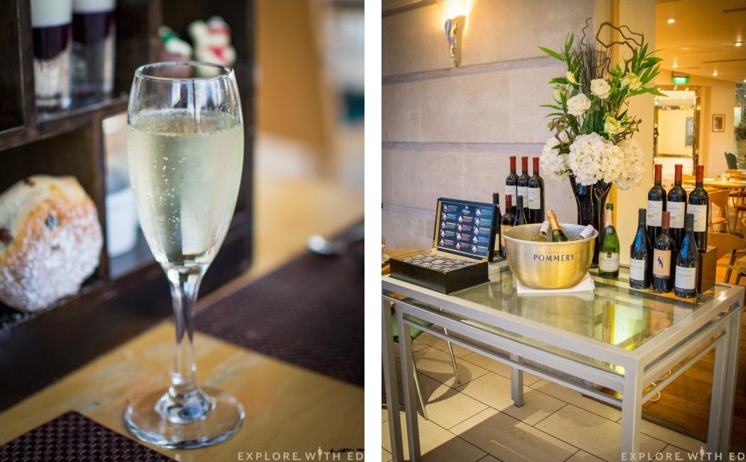 Prosecco Afternoon Tea, Hilton Hotel Cardiff