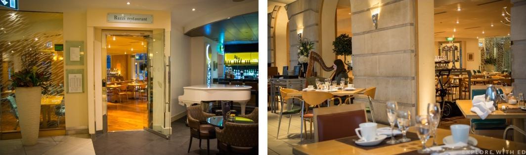 Razzi Restaurant Cardiff, Hilton Hotel