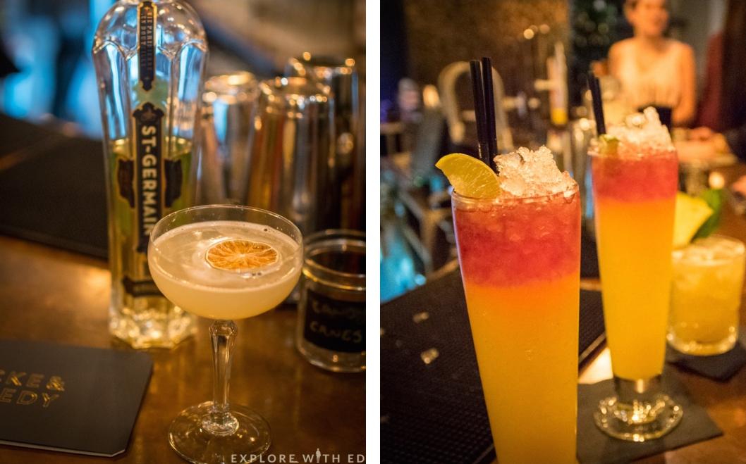 Elderflower Cosmo, Locke & Remedy, Cocktail Class