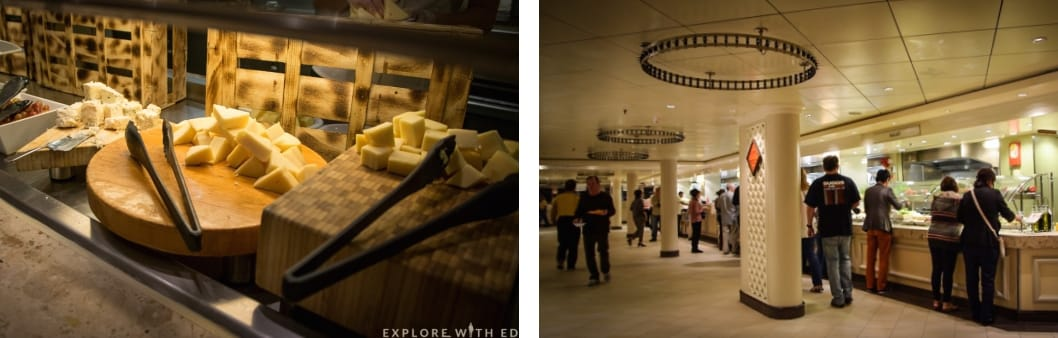 Norwegian Epic Garden Café, Cheese