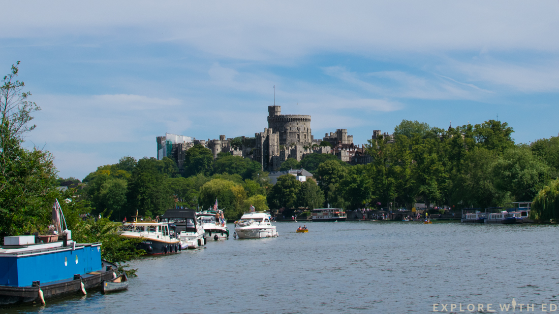Windsor Castle and river cruise