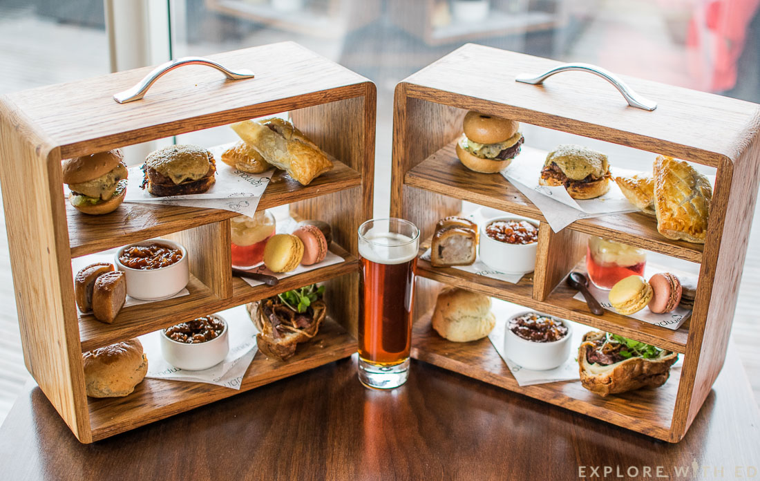 St David's Hotel Cardiff Gentlemen's Afternoon Tea