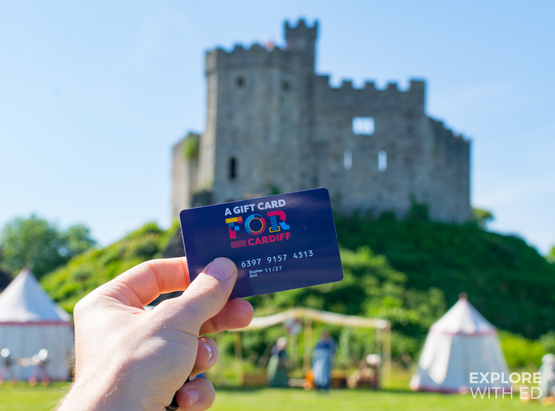 A guide to the 'FOR Cardiff' Gift Card