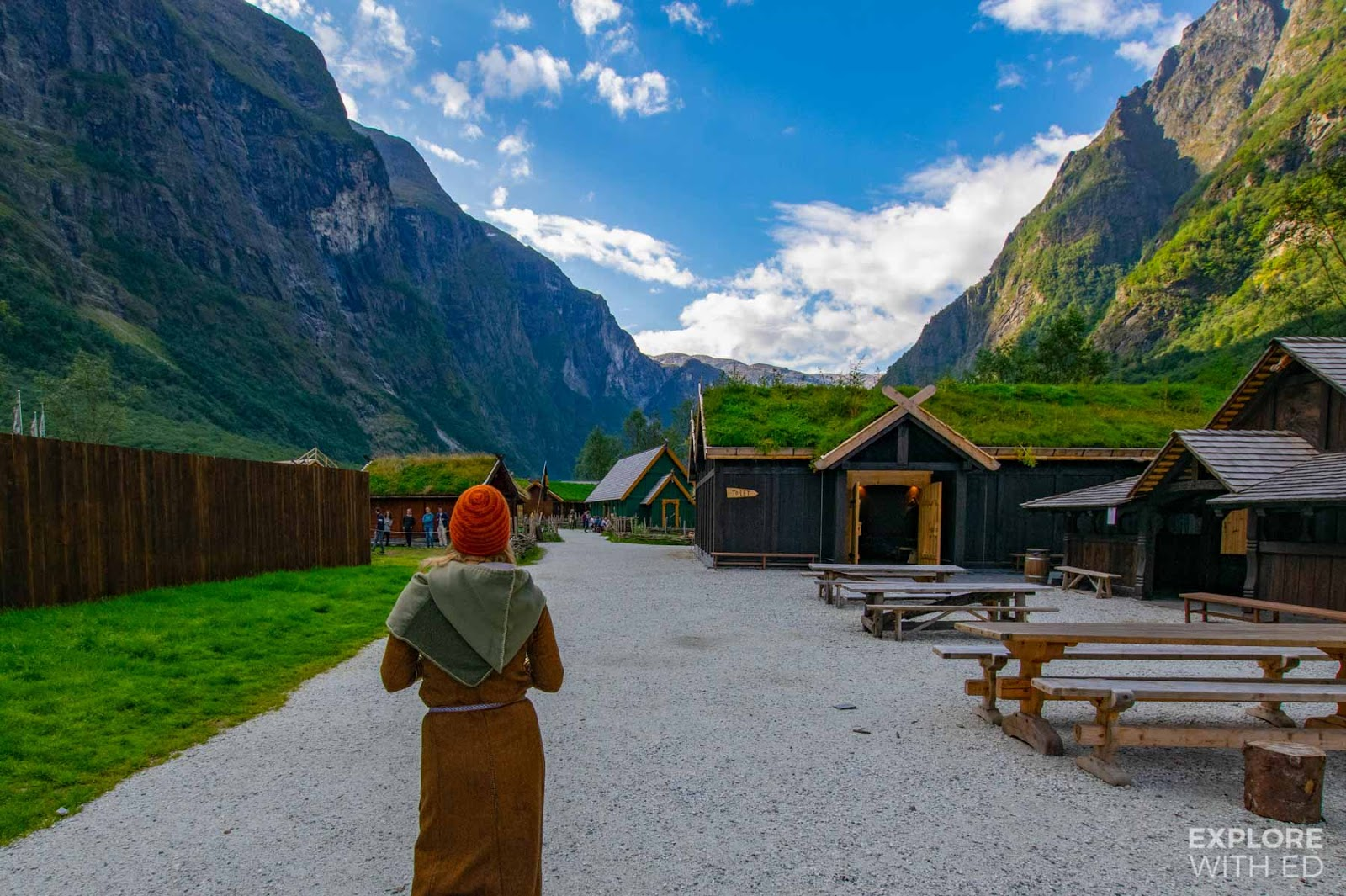 Guided tour of the Njardarheimr Viking Valley