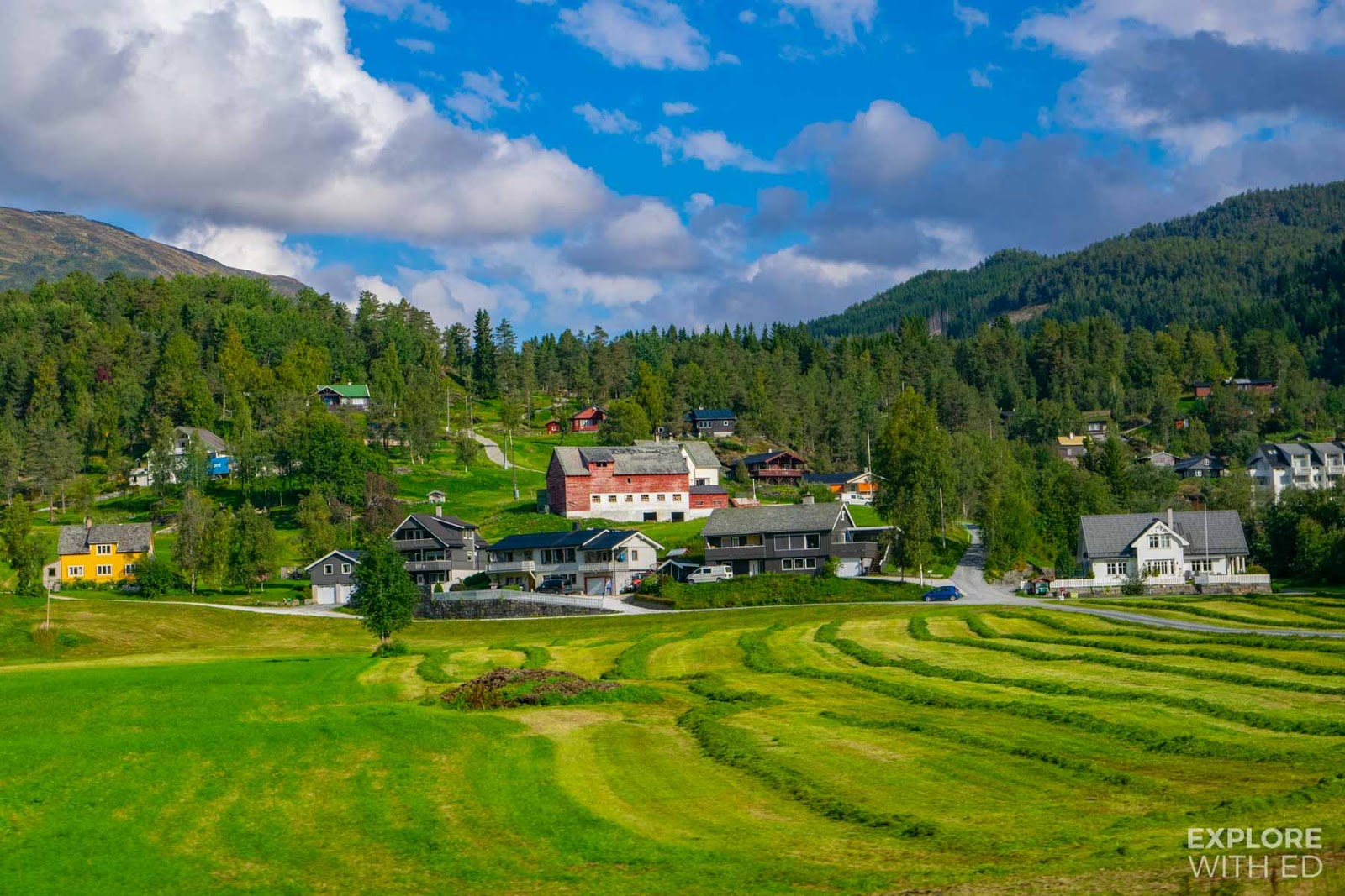 Quaint Norwegian Villages in Hordaland