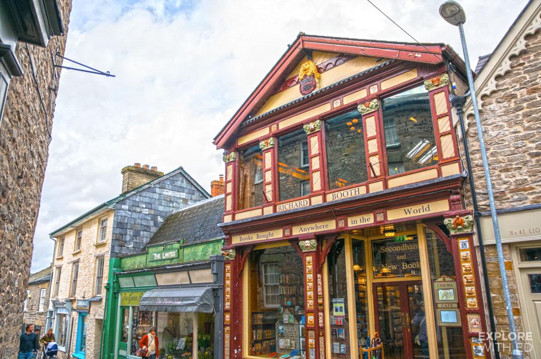 Richard Booths book shop and café