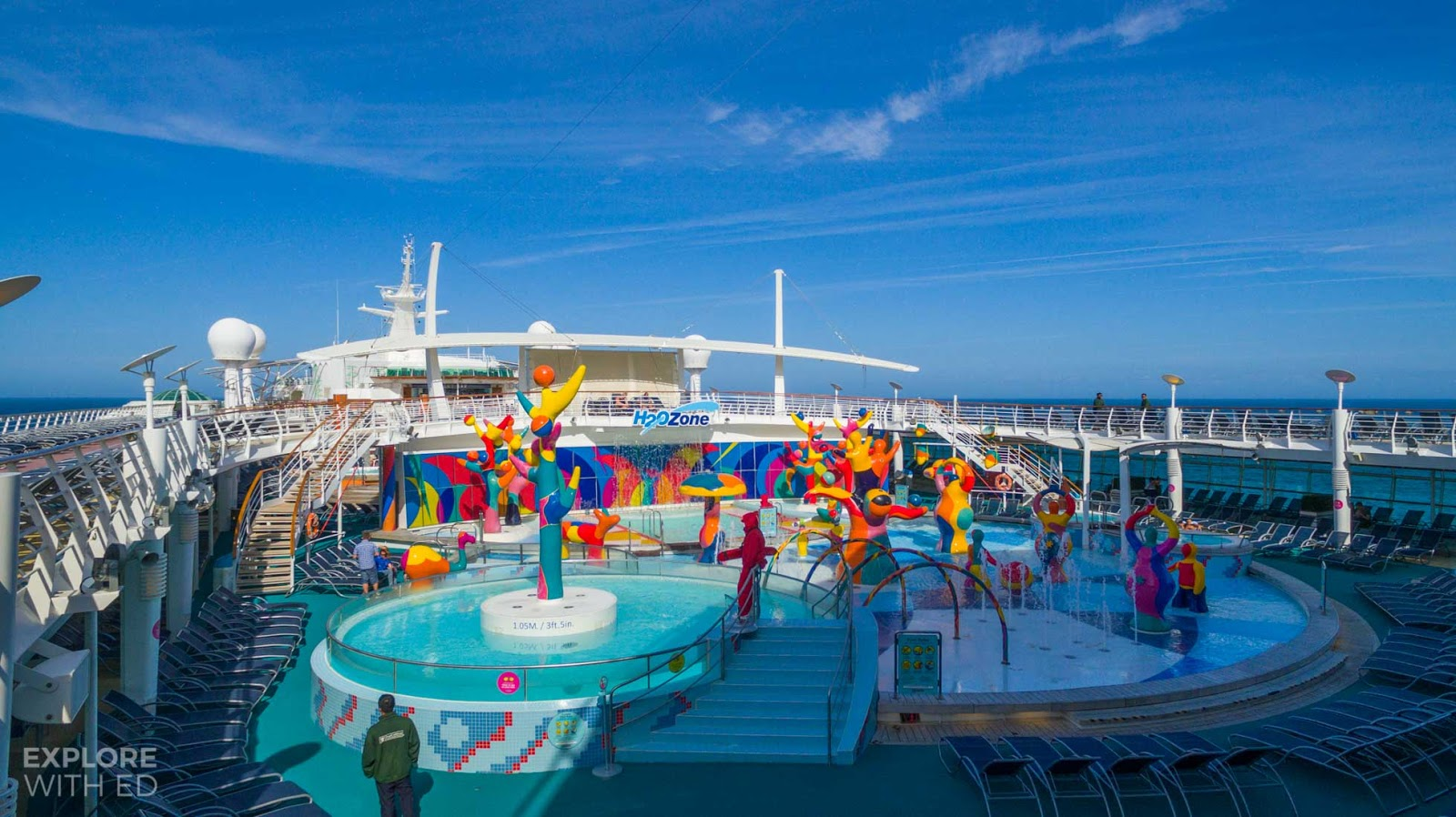 The H2O Zone onboard Independence of the Seas