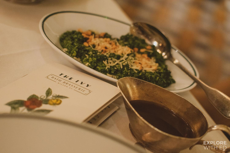 The Ivy Bath Brasserie Menu