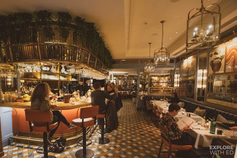 The Ivy Bath bar