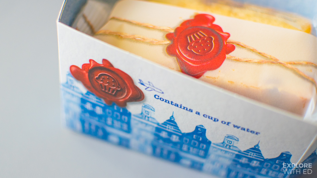 Food onboard KLM Cityhopper