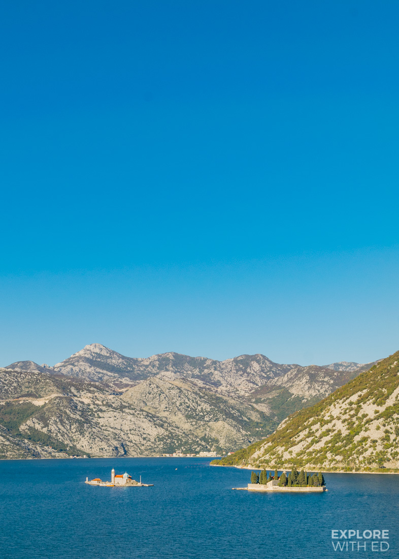 Small island in the Bay of Kotor