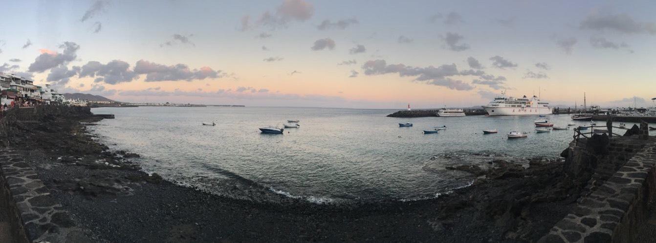 Lanzarote Black Sand Beach by Blogger Miss Nicklin