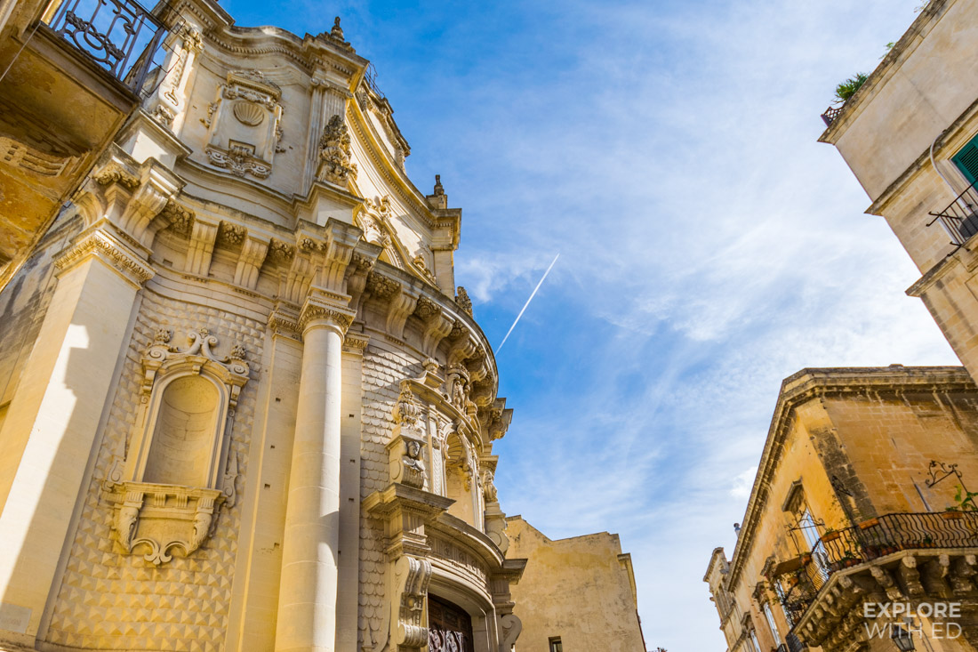 Church buildings in Lecce