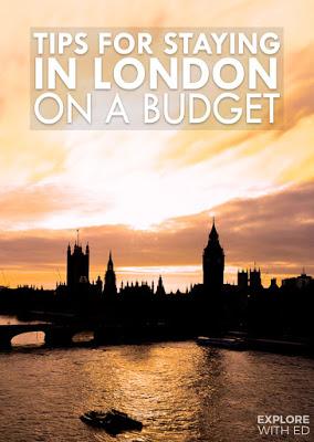 London on A Shoestring pinterest image