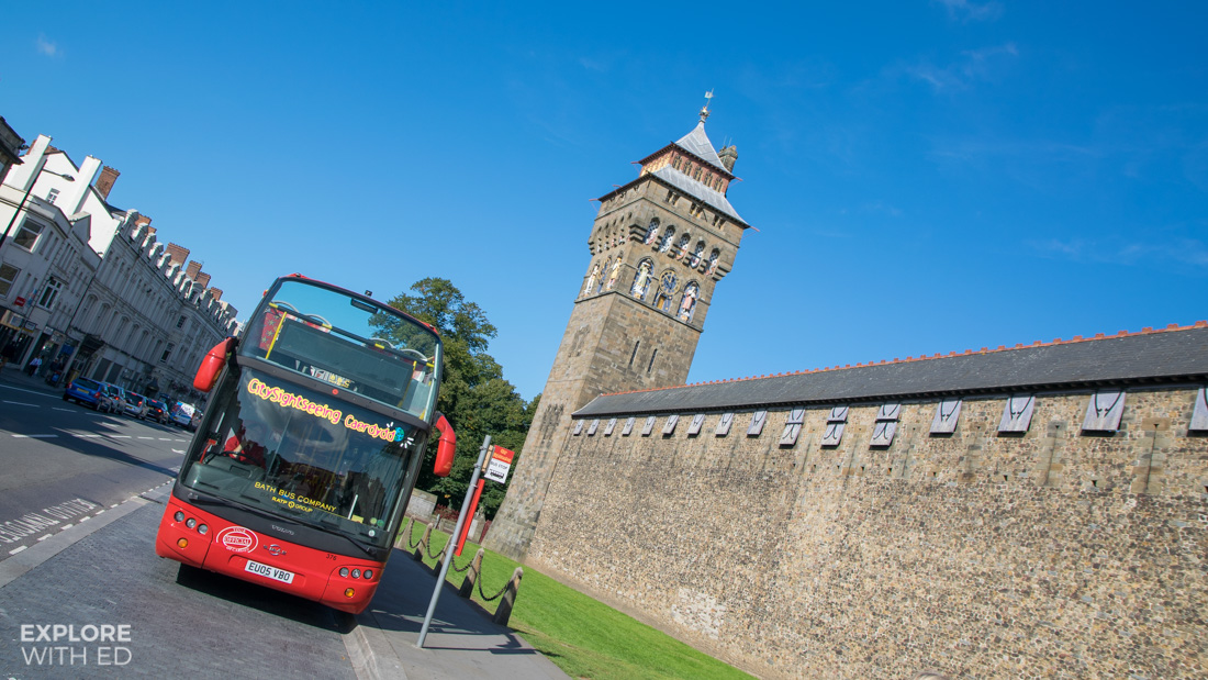 Cardiff City Sightseeing Bus Tour