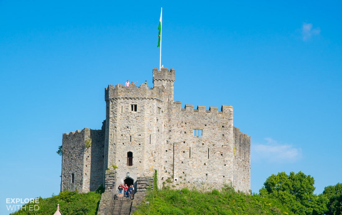 Cardiff Castle Norman Keep
