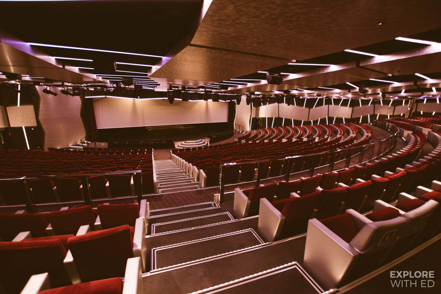 Entertainment Theatre on MSC Cruises