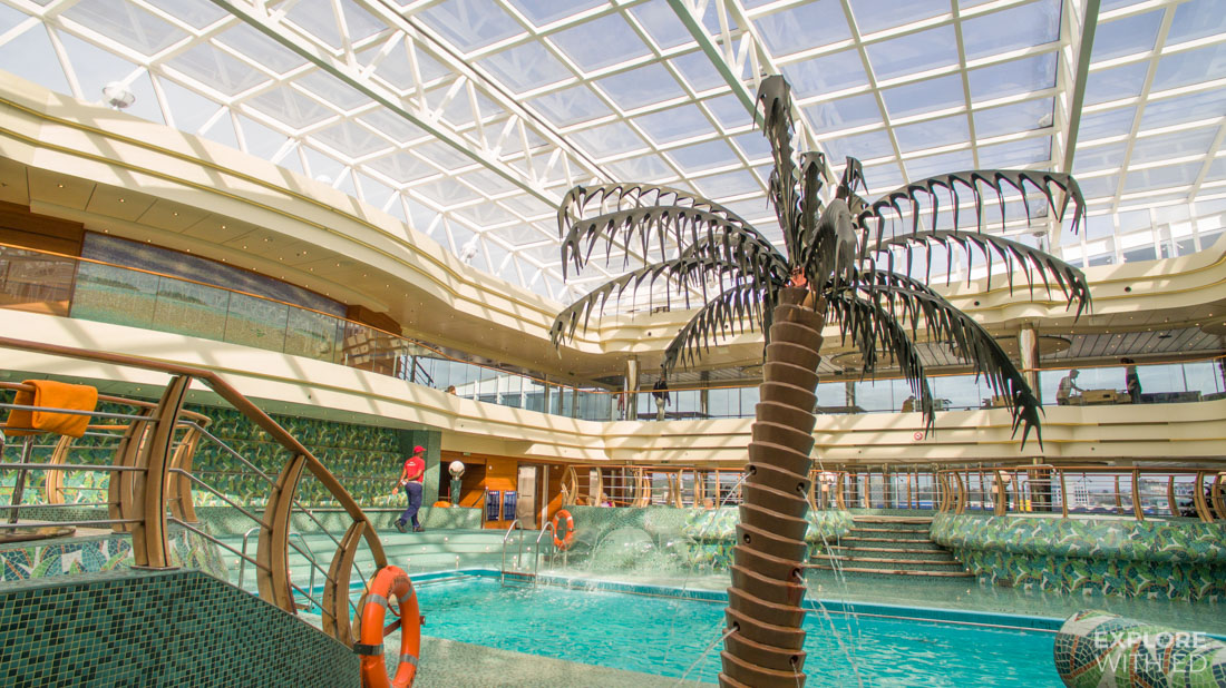 Indoor Pool on MSC Preziosa