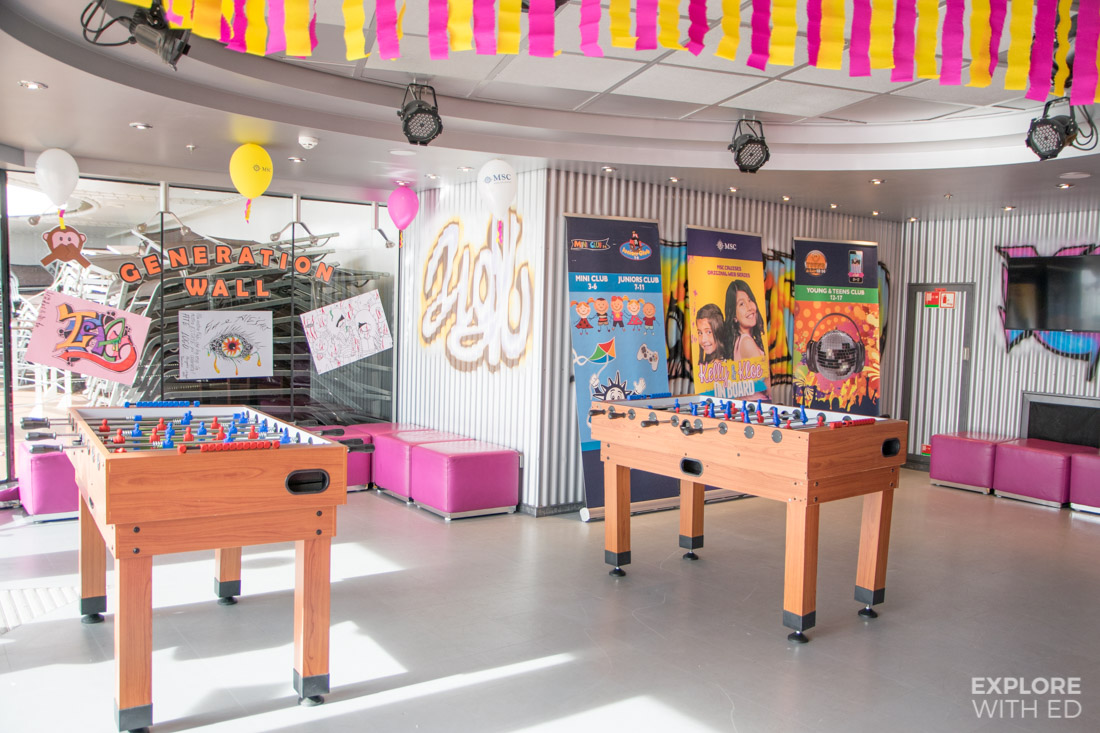 Doremi Kids Clubs on MSC Preziosa
