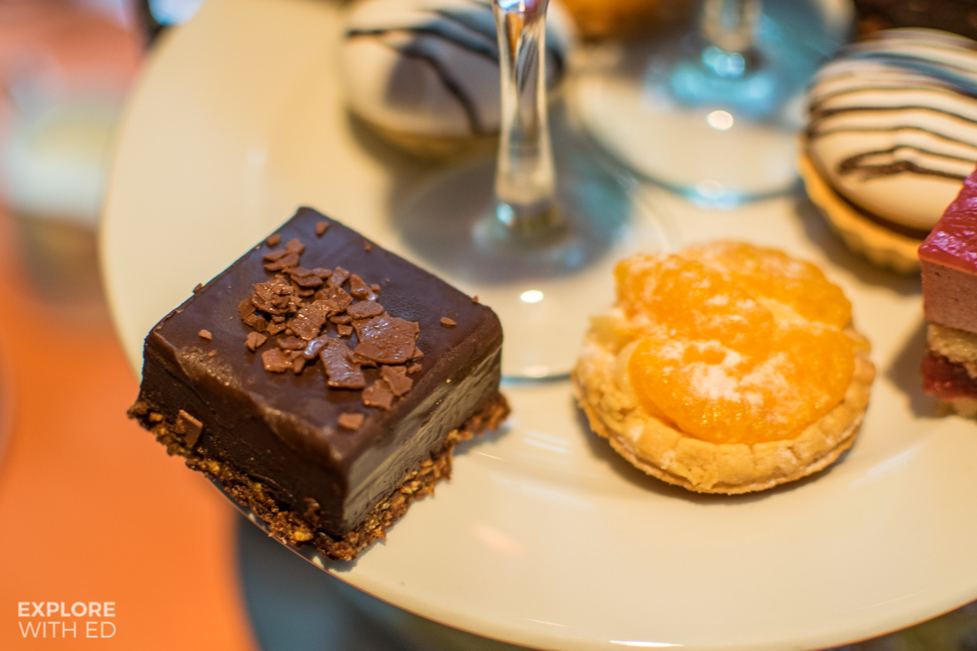 Park Plaza Cardiff cakes on Traditional Afternoon Tea