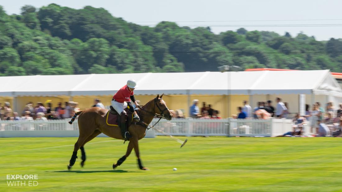 Hugh James and Bulmers Polo Team