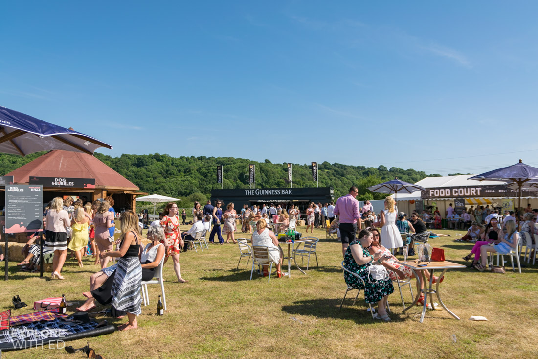 Food and Drink area at the Polo
