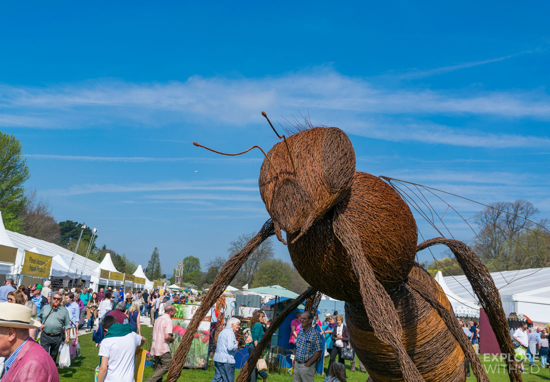 Giant Bee Garden Sculpture